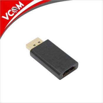 Адаптер VCom, от DisplayPort(м) към HDMI(ж), черен image