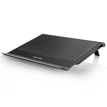 "Охлаждаща поставка за лаптоп DeepCool N65, за лаптоп до 17.3"" (43.942cm), 2 вентилатора, черна image"