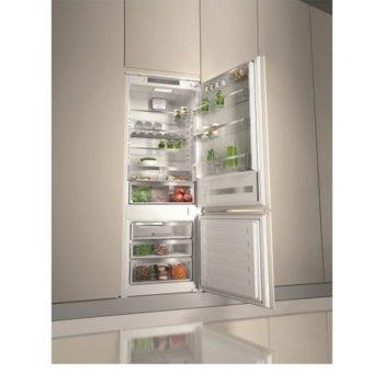 Хладилник с фризер Whirlpool SP40 801EU SP40 801EU, клас А+, 299 л. общ обем, за вграждане, 328 kWh/годишно, електронен контрол, антибактериален филтър, бял image