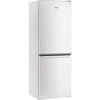 Хладилник с фризер Whirlpool W5 711E W, клас А+, 308 л. общ обем, свободностоящ, 297 kWh/годишно, 6TH Sense технология, бял image