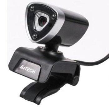 Уеб камера A4Tech PK-950H-S, микрофон, 1920×1080(30fps), USB 2.0, сребриста image