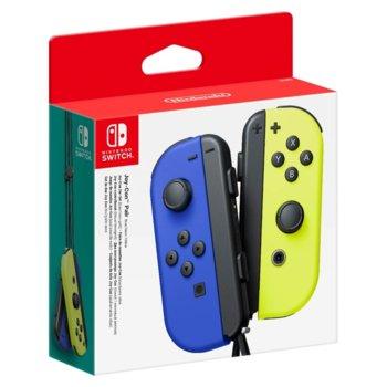 Геймпад Nintendo Switch Joy-Con, два броя, лилав син и жълт image