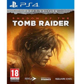 Игра за конзола Shadow Of The Tomb Raider Croft Edition, за PS4 image