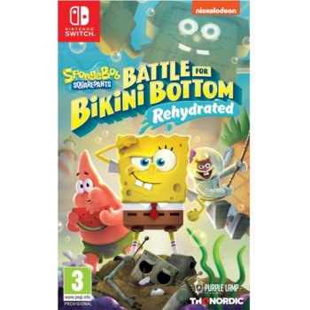 Игра за конзола Spongebob SquarePants: Battle for Bikini Bottom - Rehydrated, за Nintendo Switch image