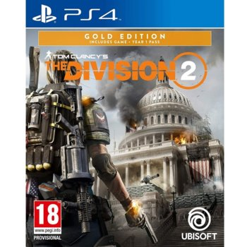 Игра за конзола Tom Clancy's The Division 2 Gold Edition, за PS4 image