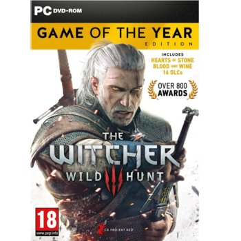 Игра The Witcher 3: Wild Hunt Game Of The Year Edition, за PC image