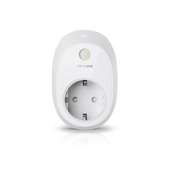 Смарт контакт TP-Link HS110, мониторинг на консумацията на енергия, съвместим с Android 4.1 или по-нова версия image