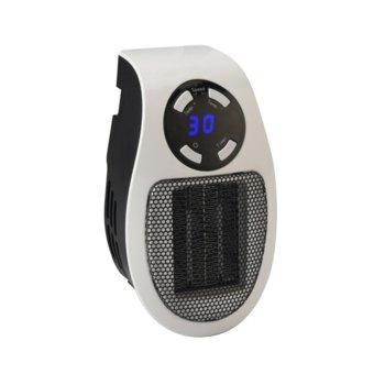 Вентилаторна печка Rohnson R 8065, 500W, 2 степени на мощност, таймер, бяла image