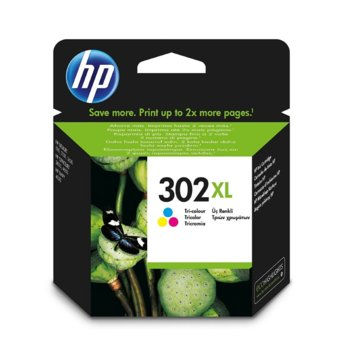 ГЛАВА HP DeskJet 1110 Printer/2130 All-in-One/3630 All-in-One; HP ENVY 4520 All-in-One Printer; HP OfficeJet 3830/ 4650 All-in-One Printers - Color (302XL) - P№ F6U67AE - Заб.: 330k image