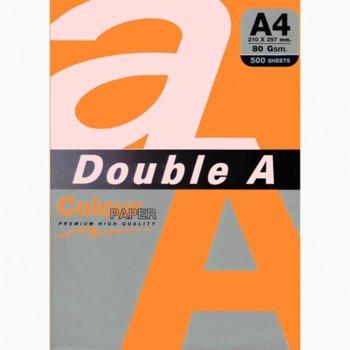 Хартия Double A 15512, A4, 80 g/m2, 500 листа, оранжева image