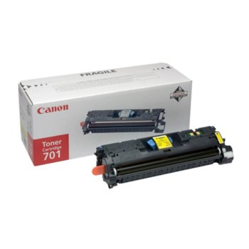 Касета за Canon LBP5200/ MF8180C - EP-701LY - Yellow - P№ 9288A003 - 2 000k image