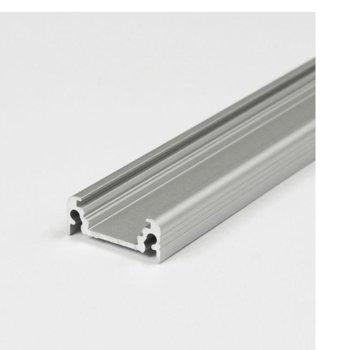 LED алуминиев профил SURFACE -ALANOD, 20 x 8mm, 2m дължина, за ленти до 10mm image