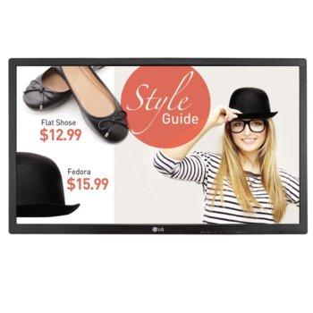 """Публичен дисплей LG 32SL5B, 32""""(81.28 cm), Full HD LED, HDMI, DisplayPort, DVI, RGB, RS232C, RJ45, USB image"""