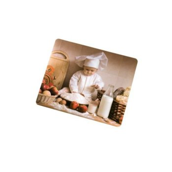 Подложка за мишка Hama Baby Baker 52244, силиконов, 230 x 190 x 1 мм image