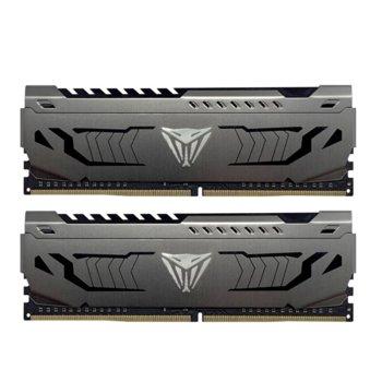 Памет 64GB (2x 32GB) DDR4 3000Mhz, Patriot Viper Steel PVS464G300C6K, 1.35V image