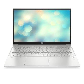 "Лаптоп HP Pavilion Laptop 15-eg0025nu (33G96EA), четириядрен Tiger Lake Intel Core i5-1135G7 2.4/4.2 GHz, 15.6"" (39.62 cm) Full HD IPS Anti-Glare Display (HDMI), 8GB DDR4 3200MHz, 512GB NVMe SSD, 1x USB 3.2 (Gen 2x1, Type-C), FreeDOS, 1.75kg image"