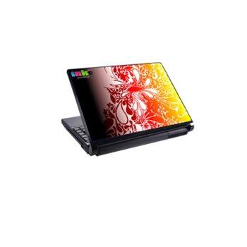 Декорация /скин/ Fullmark LS0025, за лаптопи до 26.7 x 39.37cm, жълто-червен image