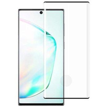 Протектор от закалено стъкло /Tempered Glass/ за Samsung Galaxy Note 10, 3D, 0.3mm, черен image