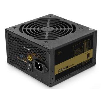 Захранване DeepCool DA600, 600W, Active PFC, 80 PLUS Bronze, 120mm вентилатор image