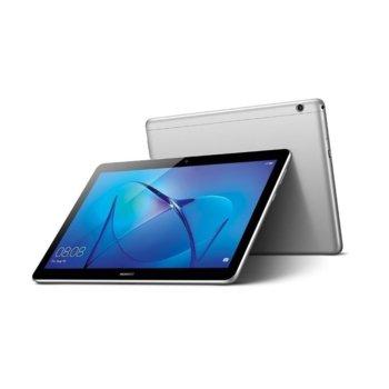 "Таблет Huawei MediaPad T3 (AGS-W09)(сив), Wi-Fi, 9.6"" (24.38 cm) IPS HD дисплей, четириядрен Qualcomm MSM8917 1.4GHZ, 2GB RAM, 16GB Flash памет (+ microSD слот), 5.0 & 2.0 Mpix, Android image"