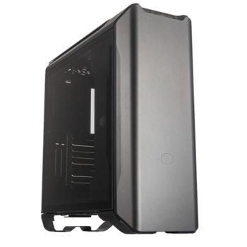 Кутия CoolerMaster Mastercase SL600M Black Edition, EATX/ATX/Micro-ATX/Mini-ITX, USB 3.1 (Gen 2) Type-C, прозорец, черна, без захранване image
