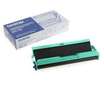 ТТ ЛЕНТА ЗА BROTHER FAX T102/T104/T106 - Cartridge + refill PC-74RF - P№ PC-75 image