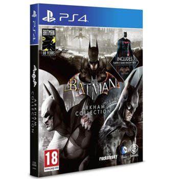 Игра за конзола Batman: Arkham Collection, за PS4 image