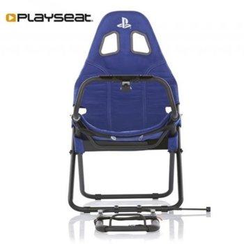 Геймърски стол Playseat Challenge Playstation Edition, син image