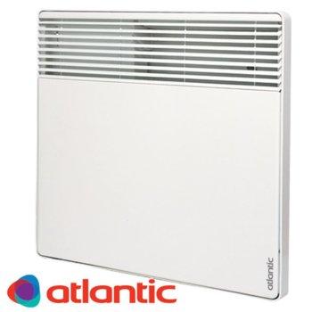 Конвектор Atlantic F127, oтопляема площ 22 м², електронен термостат, LCD дисплей, автоматична защита от прегряване и изключване при падане, 2000W, бял image