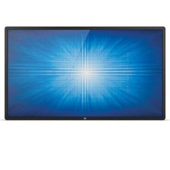 "Интерактивен дисплей ELO ET5551L-9UWA-0-MT-GY-G, 54.6""(138.6 cm), 4K UHD, Infrared multi touch, HDMI, DisplayPort, RS232, LAN, черен image"
