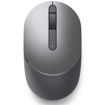 Мишка Dell 570-ABHJ-14, оптична (1600dpi), безжична, Bluetooth, USB, сива image