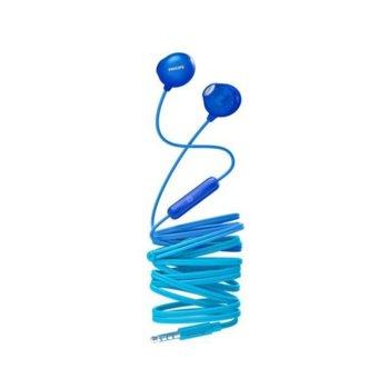 Слушалки Philips UpBeat Earbud, микрофон, сини image