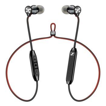 Слушалки Sennheiser Momentum Free In-Ear, микрофон, безжични, 15-22000Hz честотен диапазон, черни image