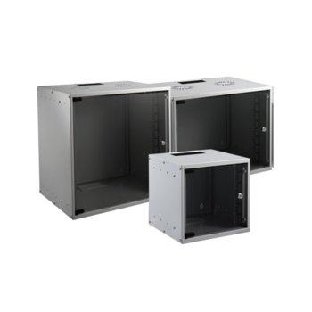 """Комуникационен шкаф EFB Elektronik WGB-1912GR.60, 19"""" (48.26 cm), 12U, 535 x 600mm, сив image"""