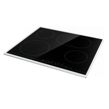 Стъклокерамичен плот Gorenje ECT643BX, 4 нагревателни зони, 7000W, черен image