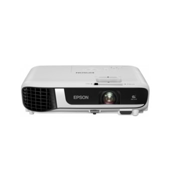 Проектор Epson EB-W51, 3LCD, WXGA (1280 x 800), 16 000 : 1, 4000 lm, HDMI, VGA, USB image