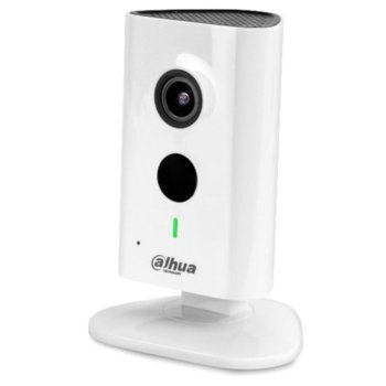 IP камера Dahua IPC-C15P, (за дома), 1.3 Mpix(1280x960@20FPS), 2.3mm mm обектив, H.264/H.264B/H.264H.MJPEG, IR осветеност (до 10м), Wi-Fi Support, RJ-45 image