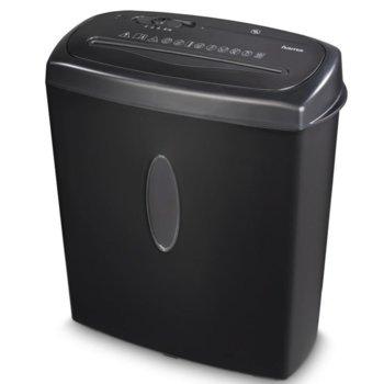 Шредер HAMA Home X10CD, до 8 листа А4, CD, DVD, Blu-Ray дискове и пластмасови карти, функция за автоматичен старт и стоп image