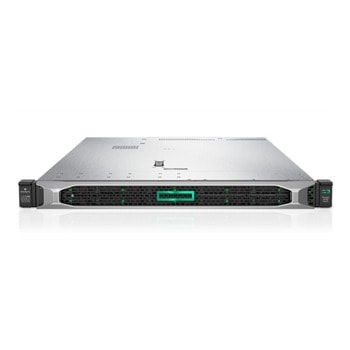 Сървър HPE DL360 G10 (P23579-B21), дванадесетядрен Cascade Lake Intel Xeon Scalable 4214R 2.4/3.5 GHz, 32GB DDR4 RDIMM, без твърд диск, 4x 1GbE, без ОС, 1x 500W PSU image
