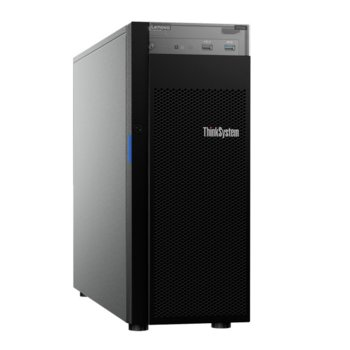 Сървър Lenovo ThinkSystem ST250 (7Y45A02TEA), шестядрен Coffee Lake Intel Xeon E-2186G 3.8/4.7 GHz, 16GB DDR4, без HDD, 2x 1GbE LOM, 2x USB 3.1, без ОС, 1x 550W PSU image