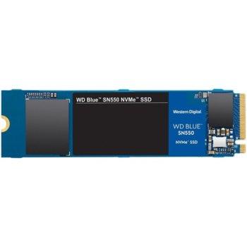 Памет SSD 1TB, Western Digital Blue SN550 (WDS100T2B0C), PCIe Gen 3 NVMe, M.2, скорост на четене 2400 MB/s, скорост на запис 1950 MB/s image