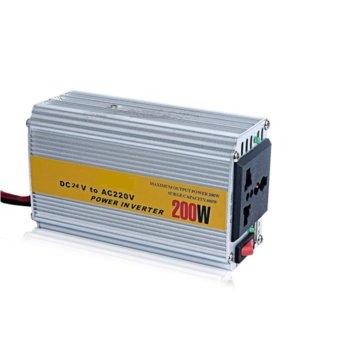Инвертор BZ-AC200, 200W, от DC24V към AC220V, за кола image