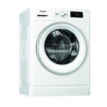Перална машина WHIRLPOOL FWG81496WS EU, клас А+++, капацитет 8кг., 1400 обр./мин., 13 програми, свободностояща, 60 см, 6-то чувство, бяла image