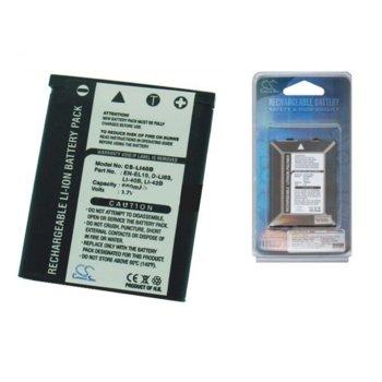 Батерия Cameron Sino за апарат OLYMPUS Li-40B/ Li-42B, CASIO NP80, PENTAX DLI63, FUJI NP45NIKON EN EL10, LiIon 3.7V, 660mAh image