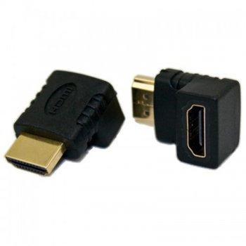 Преходник DeTech, от HDMI(ж) към HDMI(м)  image