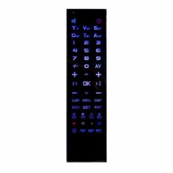 Универсално дистанционно Remote Control UNI KEEN 4 in 1, за устройства TV, VCR, SAT, DVD, AUX, черно image