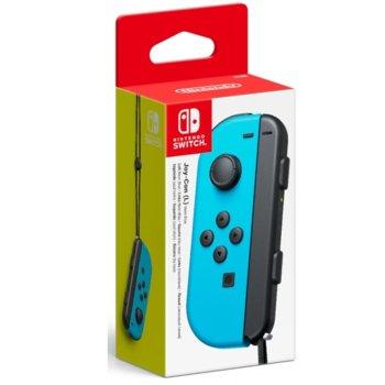 Ляв Геймпад Nintendo Switch Joy-Con, за Switch, безжичен, син image