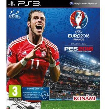 Игра за конзола UEFA Euro 2016 Pro Evolution Soccer, за PS3 image