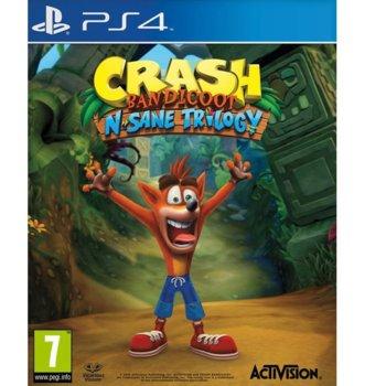 Игра за конзола Crash Bandicoot N. Sane Trilogy, за PS4 image