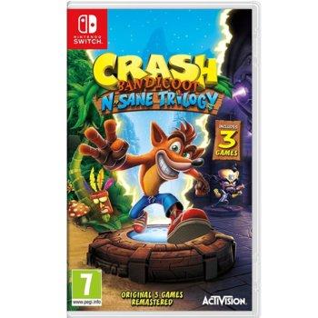 Игра за конзола Crash Bandicoot N. Sane Trilogy, за Nintendo Switch image